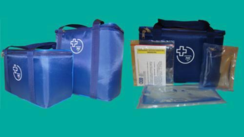 Сумка - холодильник медицинская для переноски вакцин.