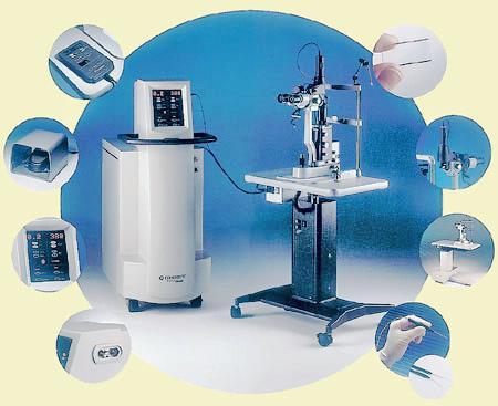 Путем применения лазера в лечении заболеваний глаз, можно справиться с тяжелой офтальмологической патологией