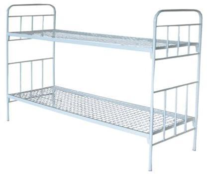 фото кровать двухъярусная металлическая