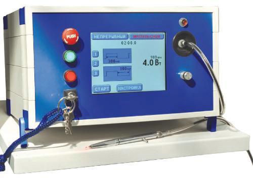 Лазерный медицинский аппарат для хирургии и силовой терапии АСТ DUAL